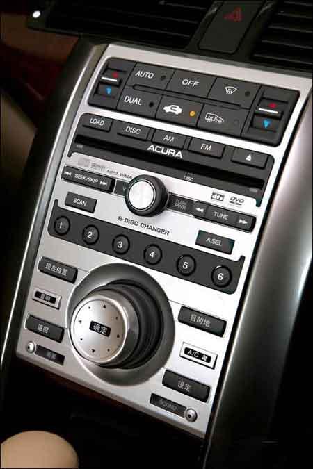 成熟与运动之美!试驾讴歌Acura RL3.5