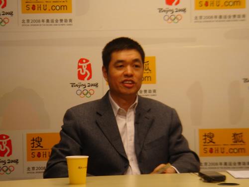 马晓春签约搜狐体育 开通博客与网友近距离接触