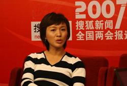 央电视台新闻节目主持人欧阳夏丹
