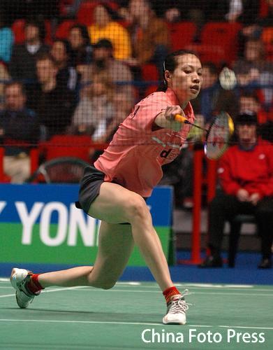 全英羽球赛:中国队高歌猛进 男双夺冠任重道远
