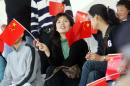 图文:[阿尔加夫杯]中国1-2美国 中国球迷助威