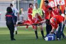 图文:[阿尔加夫杯]中国1-2美国 韩端受伤下场