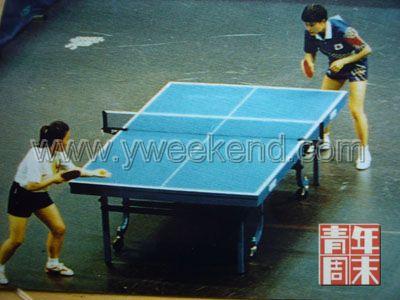 1994年亚运会,何智丽、邓亚萍决赛对垒