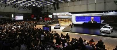 梅赛德斯-奔驰亮相2007日内瓦国际车展