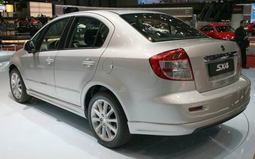天语SX4欧规版亮相2007日内瓦国际车展