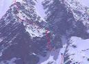 马纳斯鲁峰攀登路线图(一)