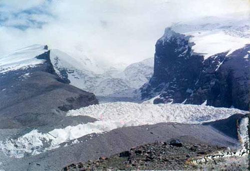 慕峰一号冰川