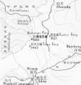 阿克苏峰地形图