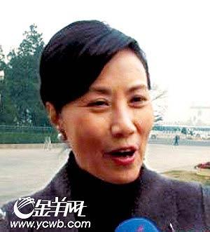 汪明荃承认未提交议案 请温总理保重身体(图)