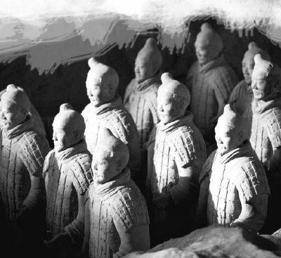 《木乃伊3》导演考察西安 李连杰将演兵马俑