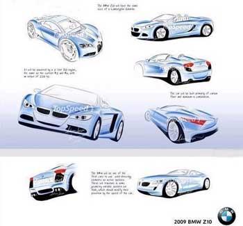 09款宝马Z10明年面世 预计售价116万