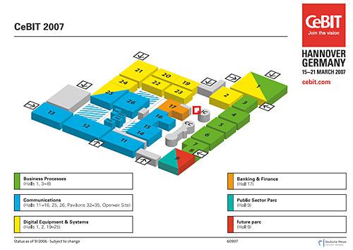 15日德国CEBIT大幕拉开 超过410家本土企业参展