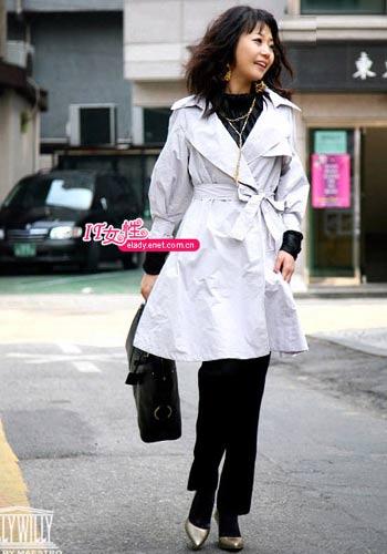 服装:白领女性 街头靓身影(4组)
