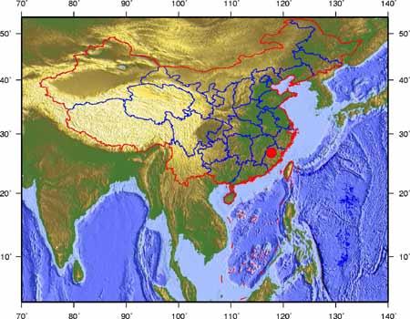 福建今发生4.7级地震 江西东部有轻微震感(图)