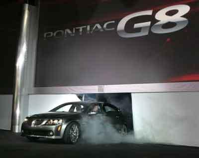 08款庞蒂亚克G8芝加哥推出