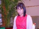图文:正官庄杯第11局 美女棋手李玟真比赛中