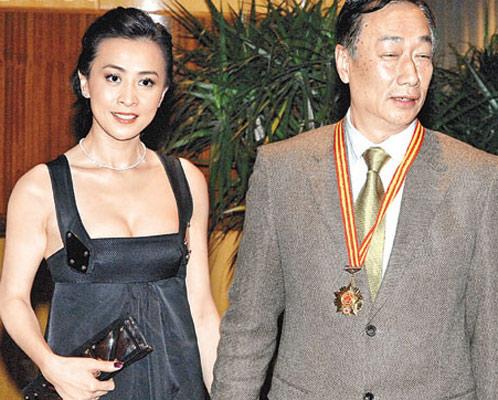 郭台铭公开征婚 提出五大条件瞄准刘嘉玲(图)