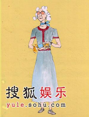 组图:《姨妈的后现代生活》人物造型图曝光