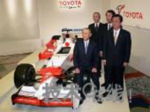 丰田公布07年F1赛车计划 争冠意愿强烈