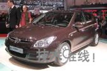 [日内瓦车展]现代发新C级车 i30主攻欧洲