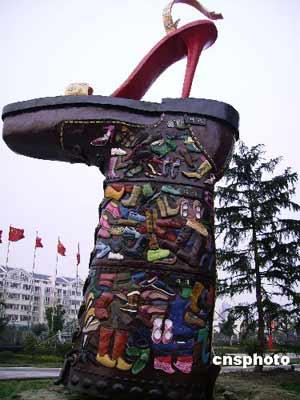 苏州可拆卸玻璃钢雕塑亮相 格外引人注目(图)