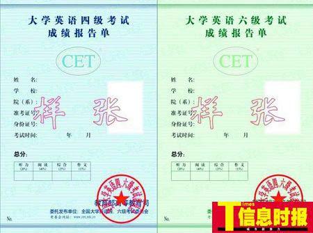 广州一大学限考四六级 本科生只能报考两次(图)