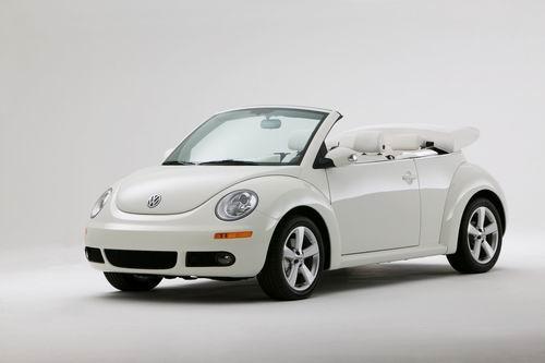 大众限量版超白甲壳虫敞篷车美国发售