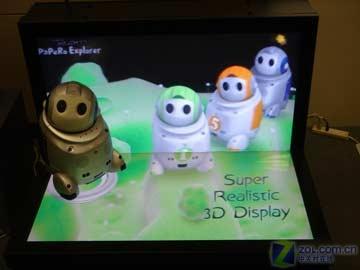 CeBIT 2007:NEC展示超逼真42寸3D显示器