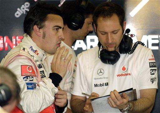 阿隆索能否卫冕看来取决于赛车表现