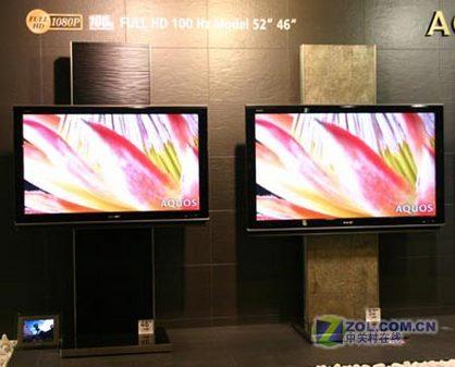 CeBIT 07:夏普发布160GB硬盘液晶TV