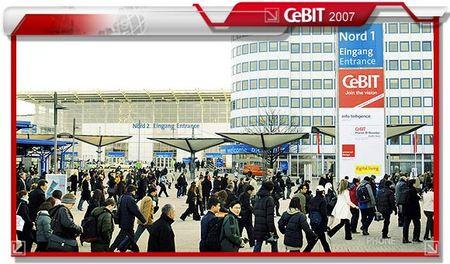 汉诺威犹如通讯展 CeBIT2007新机大阅兵