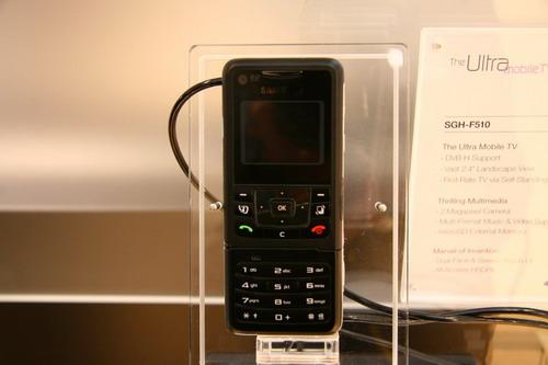 CeBIT 07:正面电视背面手机 三星超薄F510发布