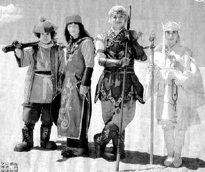 日本电影《西游记》中的唐僧师徒竟成这般造型