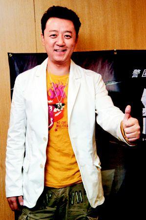 娱乐1-郭涛说自己是挺开朗、挺幽默、挺能说会道的一个人。黄立科 摄