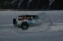 图文:2007漠河冰雪汽车拉力赛 被大雪淹没