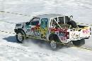 图文:2007漠河冰雪汽车拉力赛 急速前行