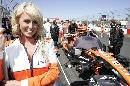 图文:[F1]澳大利亚站美女  美女笑盈盈