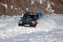 图文:07漠河冰雪汽车拉力赛 积雪中前行