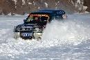 图文:07漠河冰雪汽车拉力赛 小心的驾驶
