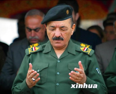 拉马丹作为萨达姆家族的重要成员,在伊拉克前政府高居副总统,位高权重。资料图