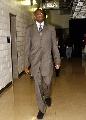 图文:[NBA]火箭VS步行者 穆大叔来到球场