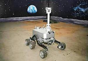 月球车系统关键技术研究取得重大进展(图片来源:中科院网站)