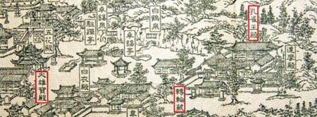 灵岩寺原貌图(清代康熙年间)