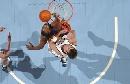 图文:[NBA]爵士胜勇士 拜伦-戴维斯但单手怒扣