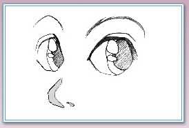 卡通人物的五官画法