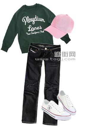 一条牛仔裤的5种穿法