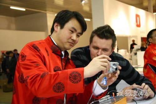 图2:欧洲观众非常喜爱来自中国的高质优价的数码相机