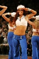 图文:[NBA]开拓者胜尼克斯 尼克斯美女啦啦队