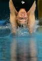 图文:女子一米板决赛 哈特里垂直入水