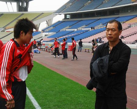 张宁与弟子王晓龙